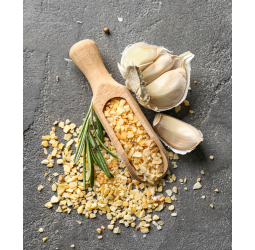 Garlic products of own production